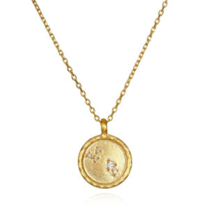 Aries Zodiac Gold