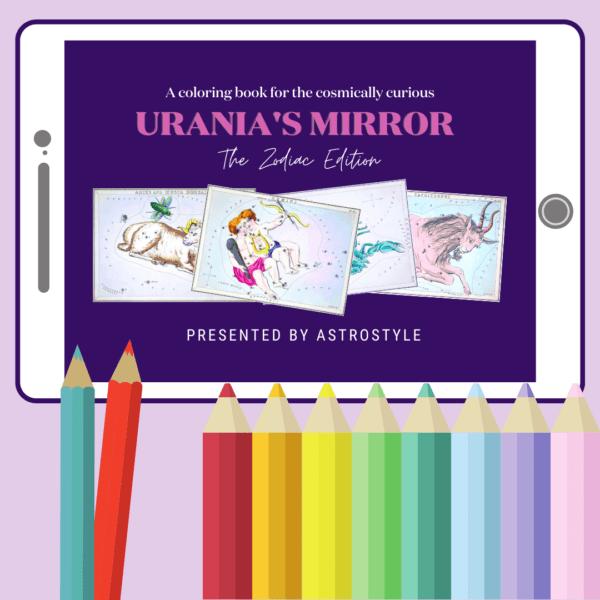 Urania's Mirror Coloring Book