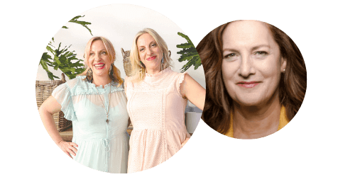 AstroTwins and Kate MacKinnon